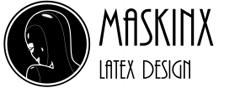 Maskinx Latex Design Logo